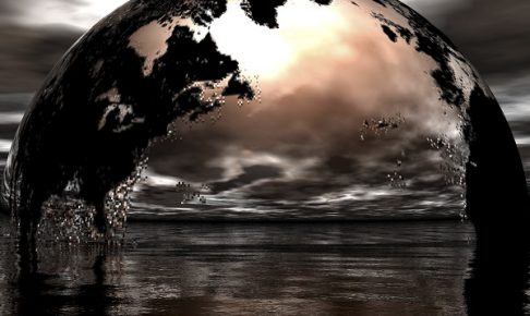 digital compisition of the earth
